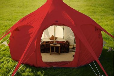 Only in our store! Famous American WeatherMaster tents! (Demo)